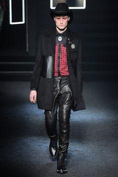 Wilhelmina Models: Bastiaan Van Gaalen for Philipp Plein, MFW F/W '14 - See more at: wilhelminanews.com