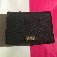 Kate Spade Cara Wallet This is an authentic Kate Spade car wallet in black. This has been used but is in good condition. Offers are welcome. ❌No trades!❌ kate spade Bags Wallets