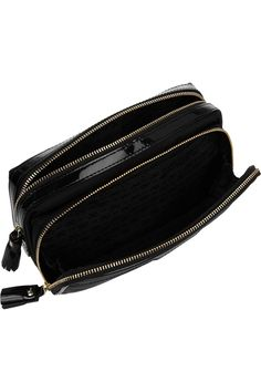 Anya Hindmarch - Make Up small patent leather-trimmed cosmetics case 5fdfacc1601ff