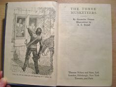 The Three Musketeers by Alexandre Dumas by EnglishVintageBooks