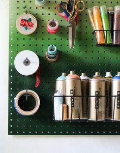 DIY Ombre Pegboard + @MONTANADIY Giveaway