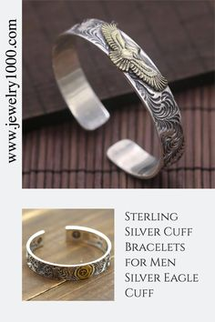 Sterling Silver Plated Vintage Double Black Tree Leaf Charm Open Band Ring,Adjustable For US 5-9