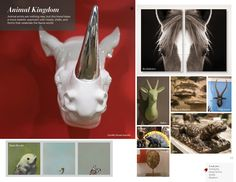 Trend: Animal Kingdom Phillips Collection, Green Box, Box Art, Animal Kingdom, Design Ideas, Christmas Ornaments, Interior Design, Antiques, Holiday Decor
