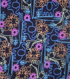 Anti Pill Fleece Print-Animal Gathering: fleece fabric: fabric: Shop | Joann.com