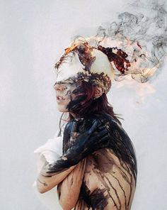 Ramdam - Inspirations et Coups de cœur — Blind Artist George Redhawk Creates Beautiful GIFs