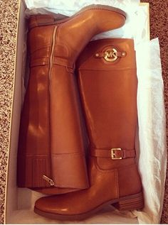 Brown boots from Michael Kors! Love these!