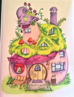 Tanya Bogema (Stolova) Nice little town 4. Matite Prismacolor penne gel