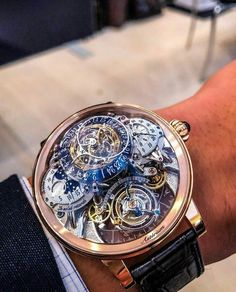 Unusual Watches, Amazing Watches, Beautiful Watches, Cool Watches, Rolex Watches, Stylish Watches, Luxury Watches For Men, Patek Philippe, Skeleton Watches