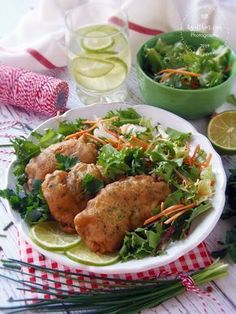 Csirkefalatok zöldfűszeres bundában Main Dishes, Food And Drink, Turkey, Chicken, Cooking, Diet, Main Course Dishes, Kitchen, Entrees