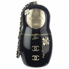 Celebrities who wear, use, or own Chanel Russian Doll Bag. Also discover the movies, TV shows, and events associated with Chanel Russian Doll Bag. Chanel Clutch, Chanel Handbags, Fashion Handbags, Chanel Bags, Designer Handbags, Couture Handbags, Designer Wallets, Clutch Bags, Shopping