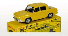 Renault 8 Gordini Yellow Dinky Toys Replica Limited Edition 1/43