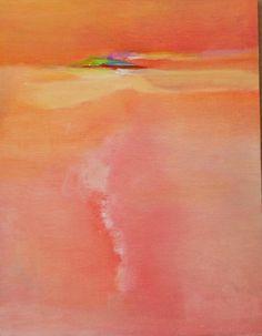 """Abstrakte Landschaft original Ölgemälde im Südwesten der Wüste am Nachmittag 9 """"x 12"""" von jansmileysart auf Etsy https://www.etsy.com/de/listing/237349439/abstrakte-landschaft-original-olgemalde"""