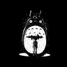 Totoro, shirt design, shirtpunch, Noir Neighbor, spicymonocle