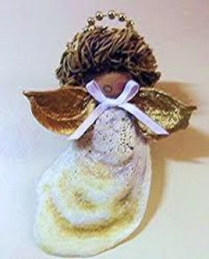 Christmas Crafts for Kids: Make an Oyster Shell Santa Ornament