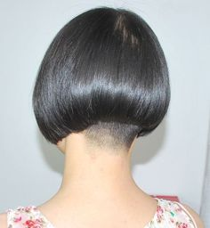 Hair Dye Colors, Hair Color, Shaved Nape, Stacked Bobs, Chanel, Hair Tattoos, Inverted Bob, Bowl Cut, Bad Hair