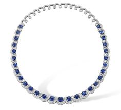 sapphire necklace - Google Search