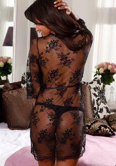 Cheap Lingerie, Lingerie Accessories, Lace Kimono, Mode Online, Outfit, Mantel, Curves, Cover Up, Two Piece Skirt Set
