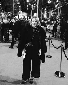 Our Culture Director Lena de Casparis at the BAFTAs