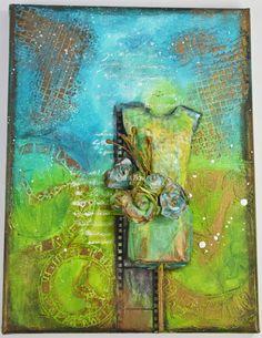 Margot & Fiona: CAMBIO DE ARMARIO EN CLAVE MIX MEDIA. ( Reto junio... Mixed Media, Painting, Art, Nail, June, Tights, Closets, Art Background, Painting Art