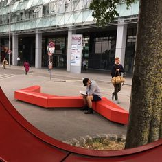 COFFIN LOUNGE by miramondo is a functional and modern seating element made from polyethylene. Easily adabtable in various contexts. The elements can be organised in many interesting forms and shapes. Lounge, Street Furniture, Coffin, Playground, Commercial, Urban, Shapes, Modern, Benches