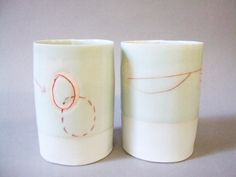 two translucent porcelain cups (by stepanka)