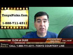 Elon Phoenix vs. Duke Blue Devils Pick Prediction NCAA College Basketbal...