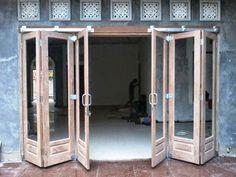 Porch Doors, Garage Doors, Door Design, House Design, Log Cabin Furniture, Puja Room, Garden Buildings, Folding Doors, Wooden Doors