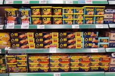 Spam is a staple in South Korea's supermarkets.