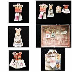 Moneygift wedding - folded money