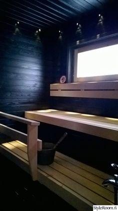 sauna,lauteet,musta sauna,mökkisauna