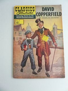 Classic Illustrated Comics in numeracle order | ... Copperfield by Charles Dickens Vintage Classics Illustrated Comic Book