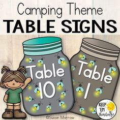 Camping Theme Table Signs: Camping Theme Classroom Decor - All About Forest Theme Classroom, Classroom Board, Classroom Setup, Classroom Design, Future Classroom, Outdoor Classroom, Bulletin Boards, Kindergarten Classroom Decor, 3rd Grade Classroom