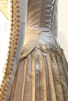 """Detail from Charlize Theron's wedding dress in """"Snow White and the huntsman"""""""