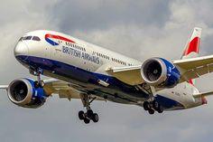 British Airways B-787-8 Dreamliner