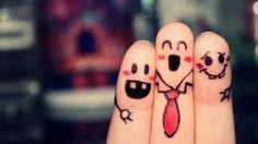 cute funny fingers 3 @Rhys Orwin @Virginia Cruz