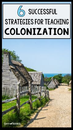 6 Successful Strategies for Teaching Colonization Social Studies Projects, 4th Grade Social Studies, Social Studies Classroom, Social Studies Activities, Teaching Social Studies, Teaching History, 8th Grade History, Study History, Fifth Grade