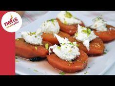 Ayva Tatlısı Tarifi – Nefis Yemek Tarifleri Fish And Meat, Fish And Seafood, Turkish Recipes, Italian Recipes, Turkish Sweets, Turkish Dessert, Turkey Today, Turkish Kitchen, Fresh Fruits And Vegetables