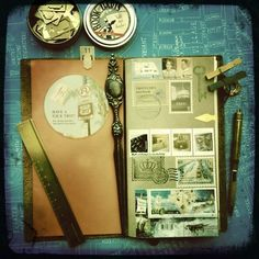 11.11.11. travelers notebook @ 11:11 by v.see., via Flickr