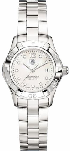 Tag Heuer Aquaracer Diamond MOP Ladies Watch WAF1415.BA0824