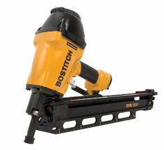 #5 BOSTITCH F21PL Round Head 1-1-2-Inch to 3-1-2-Inch Framing Nailer