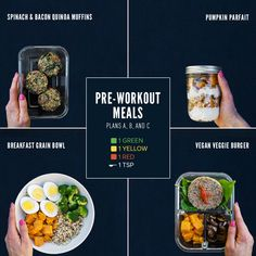Pre-Workout Meals for 80 Day Obsession