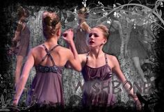 """Chloe and paige duet wishbone credit to lovedancemoms. Lovely duet to Sage's song """"Wishbone"""" Dance Moms Season 4, Chloe And Paige, Paige Hyland, Chloe Lukasiak, Seasons, Formal Dresses, Fashion, Formal Gowns, Moda"""