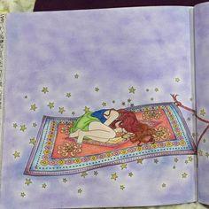 Love this book!! #dariasong #thetimechamber #colour #colouringbook #timechamber #coloringbookforadults