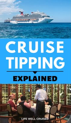 Did you know that tipping on a cruise is expected, and will actually be charged to your cabin each day? Here's all the info you need to know, so that you can prepare and plan for the expenses on your cruise, including gratuities Cruise Excursions, Cruise Destinations, Cruise Port, Cruise Travel, Cruise Vacation, Cruise Ship Reviews, Best Cruise Ships, Packing List For Cruise, Cruise Tips