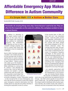 As featured in Autism Parenting Magazine (Issue 38 - August 2015 - Pages 23-25)