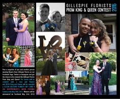 Gillespie Florists Prom King & Queen Contest 2015