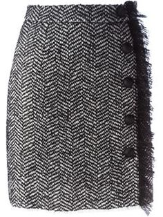 Shop Dolce & Gabbana tweed wallet skirt in Torregrossa among the best … - Skirts Tweed, Winter Skirt Outfit, Skirt Outfits, Dolce & Gabbana, Cute Skirts, Mini Skirts, Wrap Skirts, Skirt Patterns Sewing, Straight Skirt
