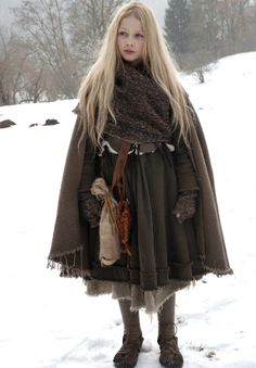"Meira Durand as Mina in the 2011 German movie ""Die Sterntaler"" (The Star Money) a Brothers Grimm tale."
