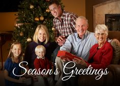 Add your own photo to this holiday card! CatPrint Design #786