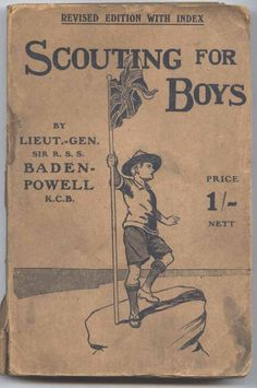 Scouting For Boys by Robert Baden Powell I have the Special Canadian Edition as scouting for boys in the Great White North can be tricky if not impossible without an addendum.